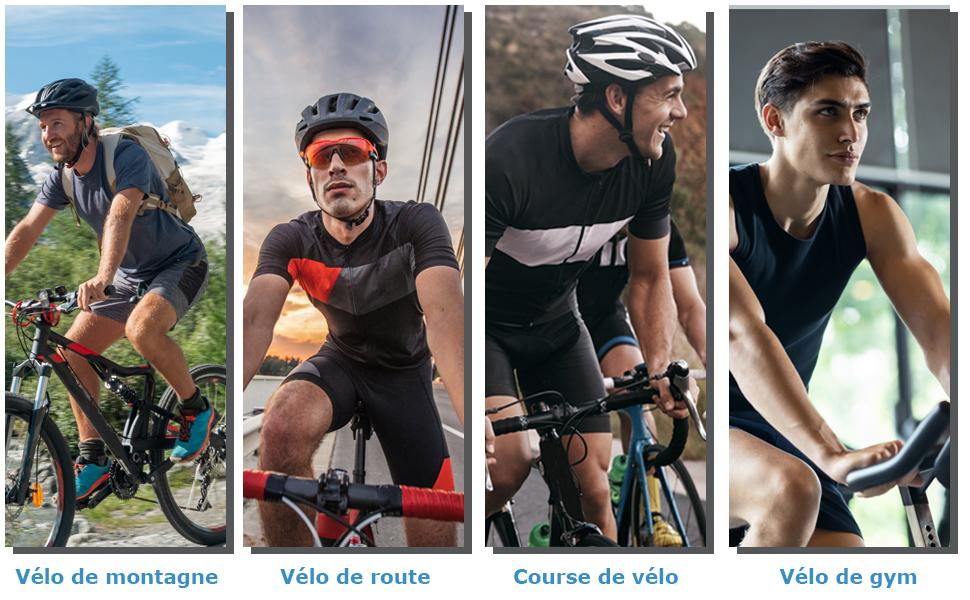 ensemble de chemise de cyclisme pour hommes