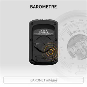 Baromètre intégré