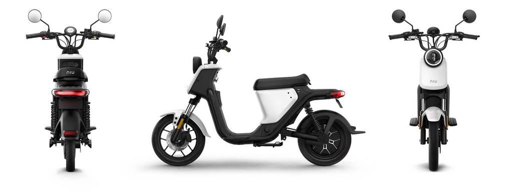 scooter electrique niu u serie banniere