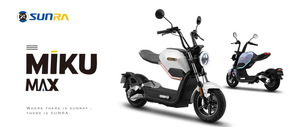 scooter electrique sunra miku max moteur bosch